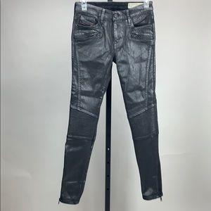 Diesel Skinzee Black Jeans size 26